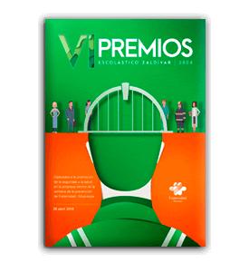 Revista VI Edición Premios Escolástico Zaldívar EZ 2804