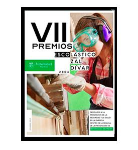 Revista VII Edición Premios Escolástico Zaldívar EZ 2804