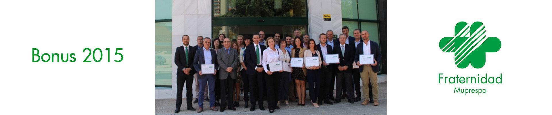 Fraternidad-Muprespa entrega reconocimientos Bonus a empresas de ...